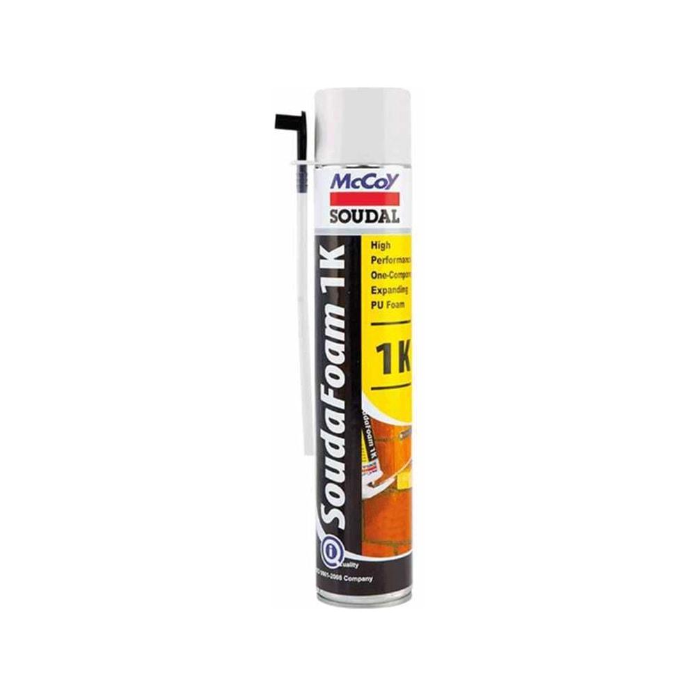 McCoy Soudal Soudafoam 1K Soundproofing PU Foam Spray Sealant