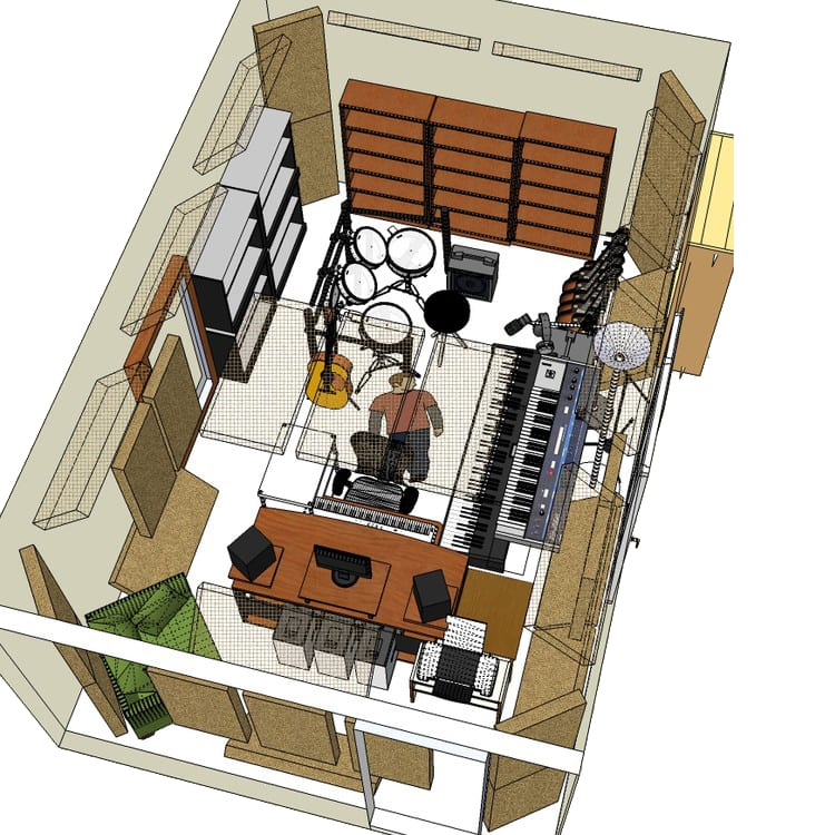 aural exchange acoustic soundproofing consulting package. Black Bedroom Furniture Sets. Home Design Ideas